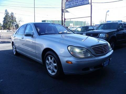 2001 Mercedes-Benz S-Class for sale at Route 46 Auto Sales Inc in Lodi NJ