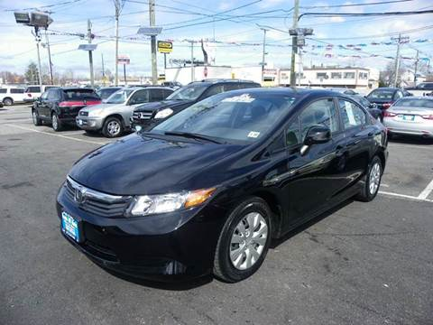 2012 Honda Civic for sale at Route 46 Auto Sales Inc in Lodi NJ