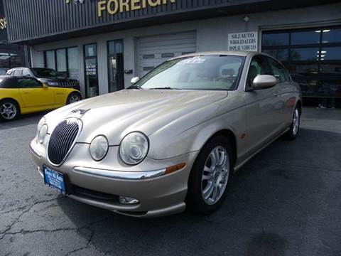2003 Jaguar S-Type for sale at Route 46 Auto Sales Inc in Lodi NJ