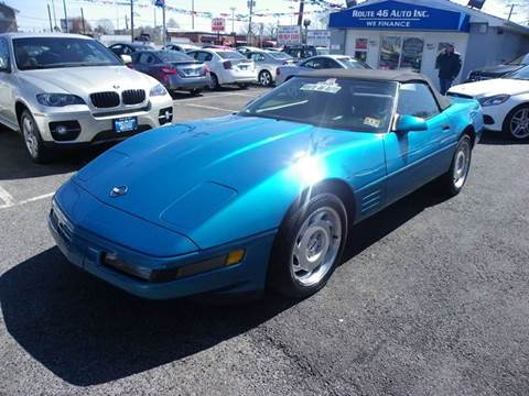 1992 Chevrolet Corvette for sale at Route 46 Auto Sales Inc in Lodi NJ