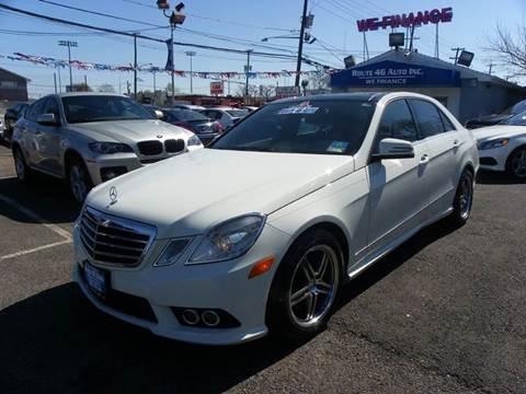 2010 Mercedes-Benz E-Class for sale at Route 46 Auto Sales Inc in Lodi NJ