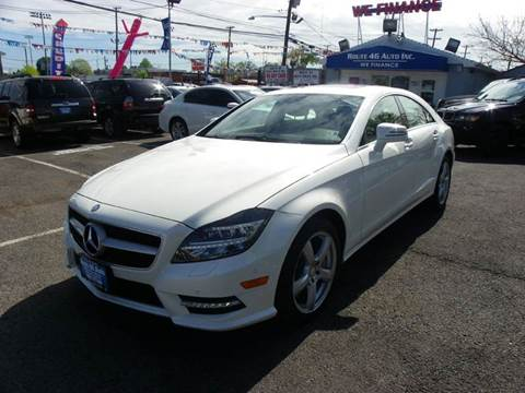 2013 Mercedes-Benz CLS for sale at Route 46 Auto Sales Inc in Lodi NJ