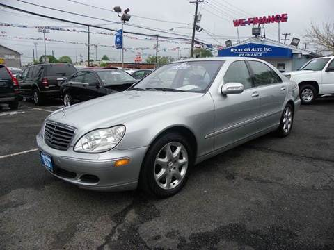 2003 Mercedes-Benz S-Class for sale at Route 46 Auto Sales Inc in Lodi NJ