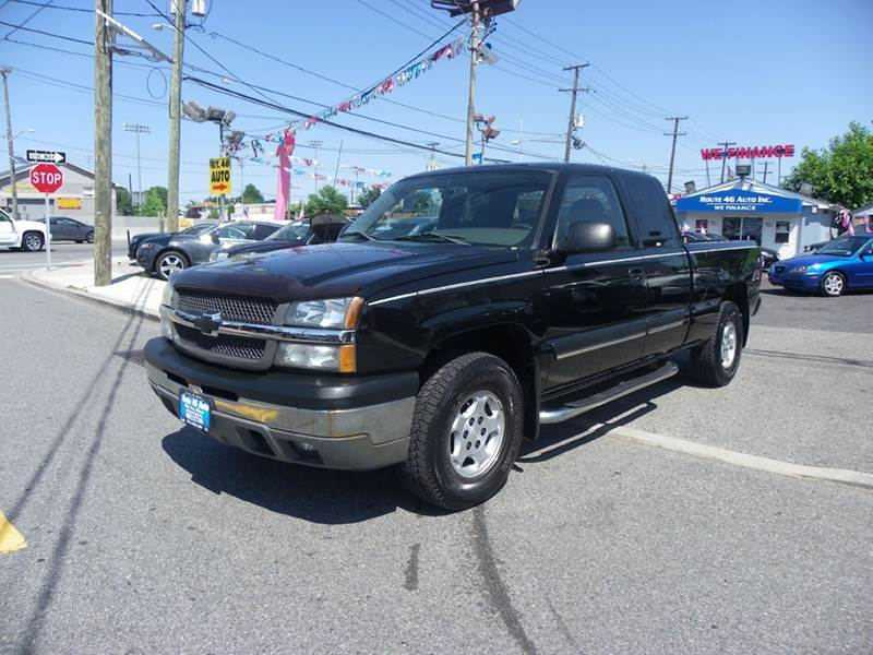 2004 Chevrolet Silverado 1500 for sale at Route 46 Auto Sales Inc in Lodi NJ