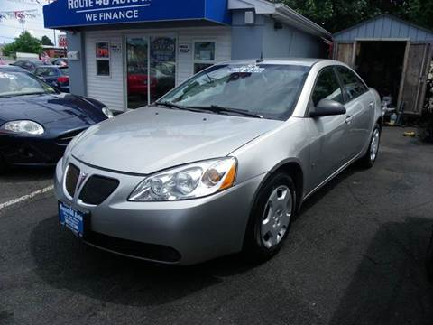 2008 Pontiac G6 for sale at Route 46 Auto Sales Inc in Lodi NJ