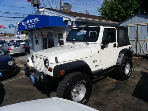 2006 Jeep Wrangler for sale at Route 46 Auto Sales Inc in Lodi NJ