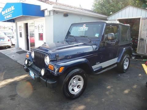 2003 Jeep Wrangler for sale at Route 46 Auto Sales Inc in Lodi NJ