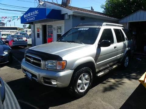 2002 Nissan Pathfinder for sale at Route 46 Auto Sales Inc in Lodi NJ