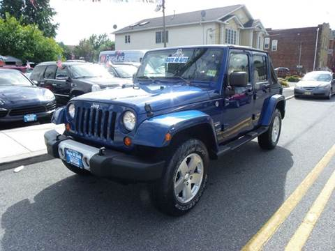 2009 Jeep Wrangler Unlimited for sale at Route 46 Auto Sales Inc in Lodi NJ