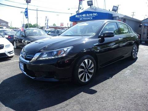 2015 Honda Accord Hybrid for sale at Route 46 Auto Sales Inc in Lodi NJ