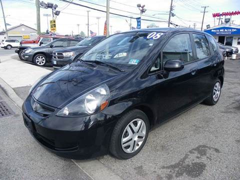 2008 Honda Fit for sale at Route 46 Auto Sales Inc in Lodi NJ