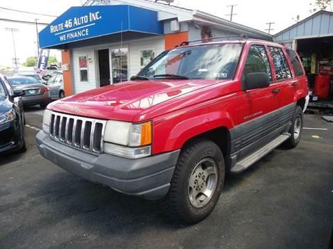 1996 Jeep Grand Cherokee for sale at Route 46 Auto Sales Inc in Lodi NJ