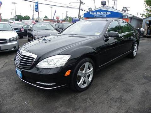 2011 Mercedes-Benz S-Class for sale at Route 46 Auto Sales Inc in Lodi NJ