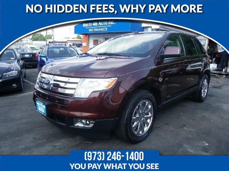 Ford Edge Limited Dr Crossover Lodi Nj