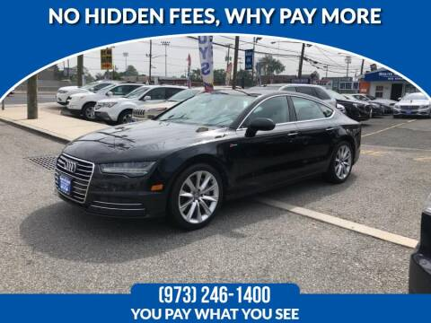 2016 Audi A7 for sale at Route 46 Auto Sales Inc in Lodi NJ