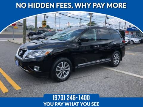 2014 Nissan Pathfinder for sale at Route 46 Auto Sales Inc in Lodi NJ