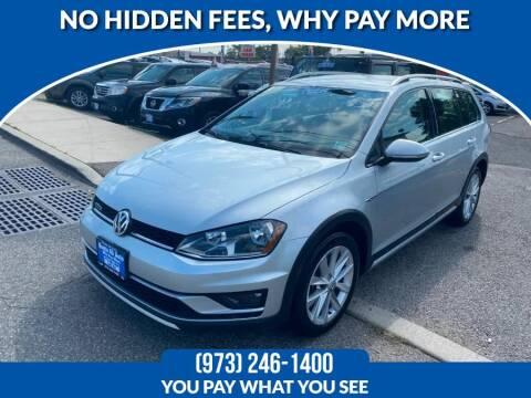2017 Volkswagen Golf Alltrack for sale at Route 46 Auto Sales Inc in Lodi NJ
