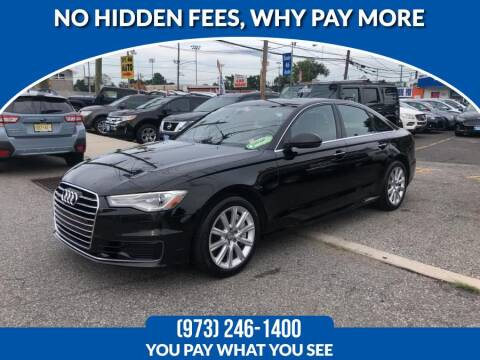 2016 Audi A6 for sale at Route 46 Auto Sales Inc in Lodi NJ