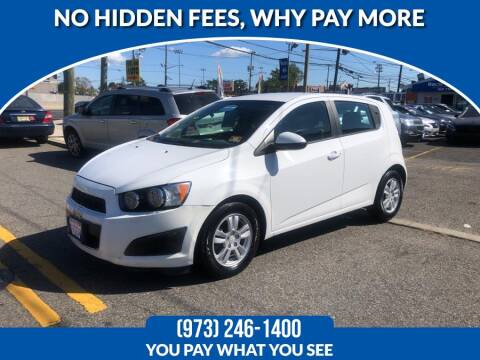 2012 Chevrolet Sonic for sale at Route 46 Auto Sales Inc in Lodi NJ