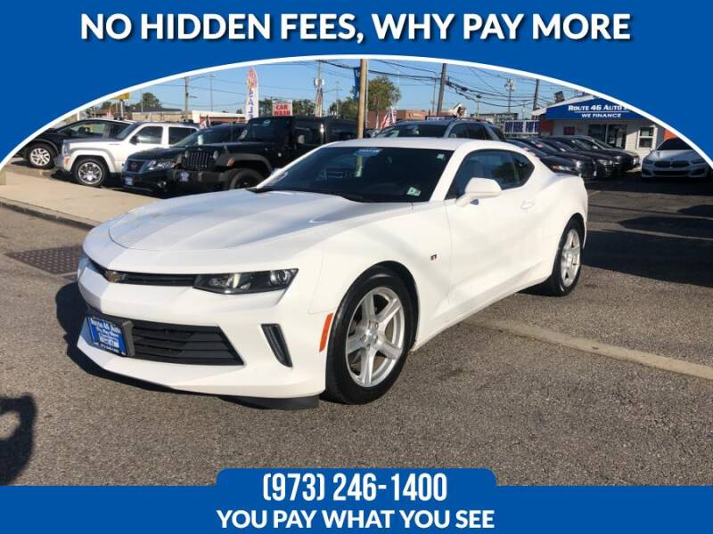 2017 Chevrolet Camaro for sale at Route 46 Auto Sales Inc in Lodi NJ
