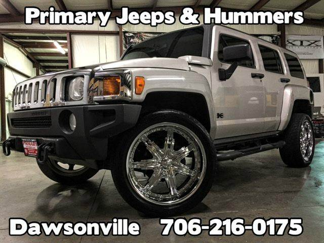 2007 hummer h3 luxury 4dr suv 4wd in dawsonville ga. Black Bedroom Furniture Sets. Home Design Ideas