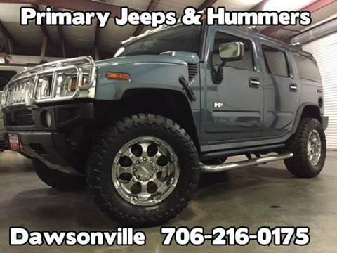2005 HUMMER H2 for sale at Primary Auto Group in Dawsonville GA