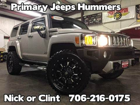 2008 HUMMER H3 for sale at Primary Auto Group Jeeps Hummers Tacomas in Dawsonville GA