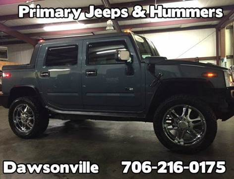 2005 HUMMER H2 SUT for sale at Primary Auto Group Jeeps Hummers Tacomas in Dawsonville GA