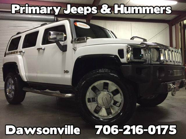 2007 HUMMER H3 for sale at Primary Auto Group in Dawsonville GA