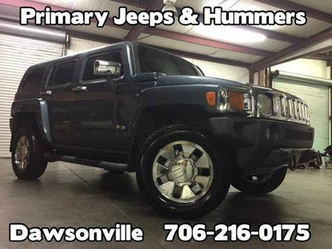2006 HUMMER H3 for sale at Primary Auto Group Jeeps Hummers Tacomas in Dawsonville GA