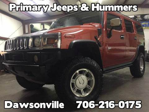 2003 HUMMER H2 for sale at Primary Auto Group in Dawsonville GA