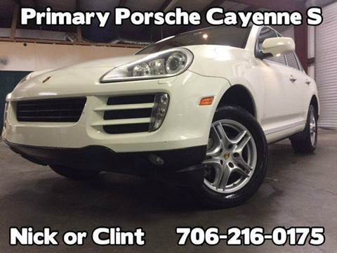 2009 Porsche Cayenne for sale at Primary Auto Group Jeeps Hummers Tacomas in Dawsonville GA
