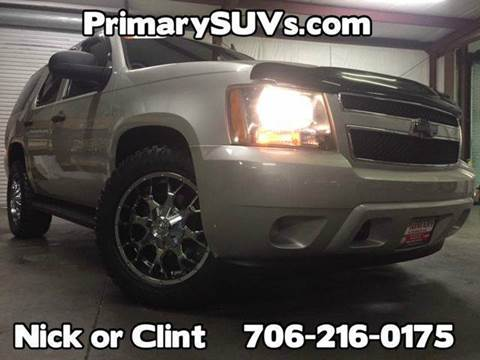 2007 Chevrolet Tahoe for sale at Primary Auto Group in Dawsonville GA