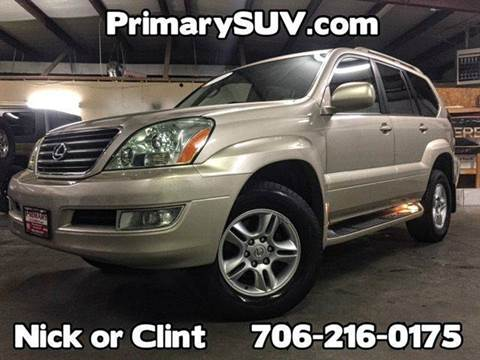 2006 Lexus GX 470 for sale at Primary Auto Group Jeeps Hummers Tacomas in Dawsonville GA