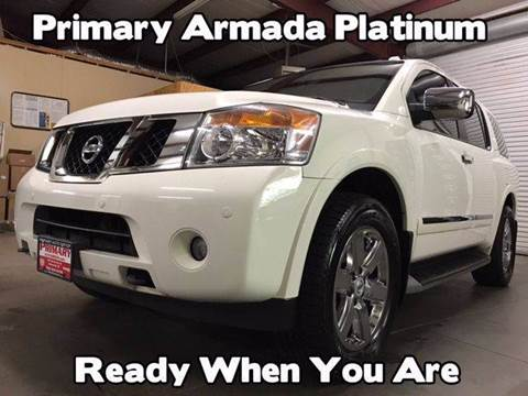 2012 Nissan Armada for sale at Primary Auto Group in Dawsonville GA
