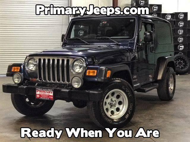 2005 Jeep Wrangler Unlimited 4WD 2dr SUV   Dawsonville GA