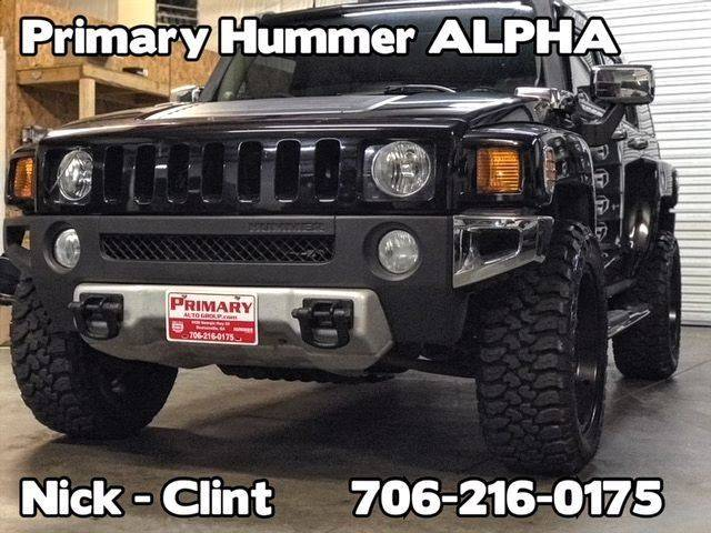 2008 hummer h3 4x4 alpha 4dr suv in dawsonville ga. Black Bedroom Furniture Sets. Home Design Ideas