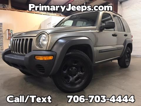 2003 Jeep Liberty for sale in Dawsonville, GA
