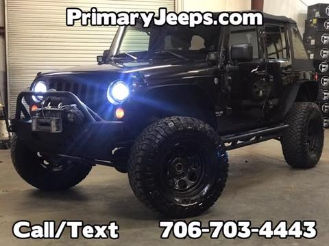2013 Jeep Wrangler Unlimited for sale in Dawsonville, GA