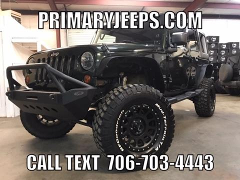 2012 Jeep Wrangler Unlimited for sale in Dawsonville, GA