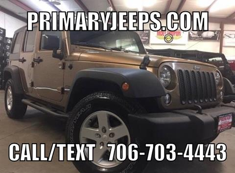 2015 Jeep Wrangler Unlimited for sale in Dawsonville, GA
