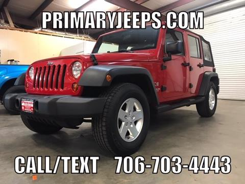 2009 Jeep Wrangler Unlimited for sale in Dawsonville, GA