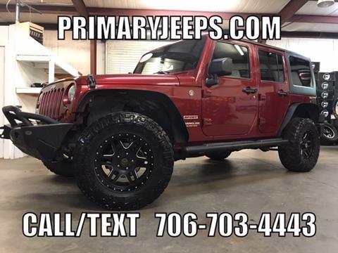 2012 Jeep Wrangler Unlimited for sale in Dawsonville, GA