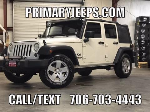 2007 Jeep Wrangler Unlimited for sale in Dawsonville, GA