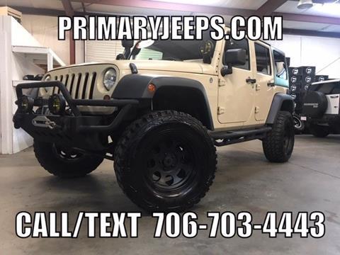 2011 Jeep Wrangler Unlimited for sale in Dawsonville, GA