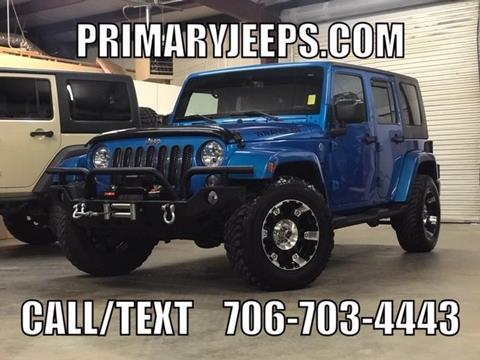 2015 Jeep Wrangler Unlimited for sale in Dawsonville, GA