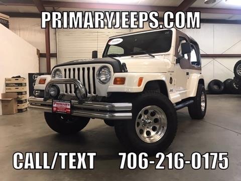 1998 Jeep Wrangler for sale in Dawsonville, GA