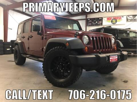 2007 Jeep Wrangler Unlimited X for sale at Primary Auto Group Jeeps Hummers Tacomas in Dawsonville GA
