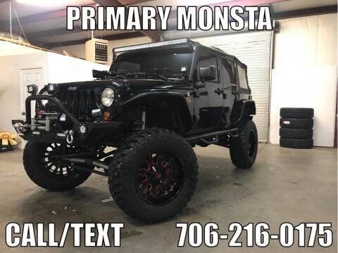 2012 Jeep Wrangler Unlimited Sport for sale at Primary Auto Group Jeeps Hummers Tacomas in Dawsonville GA