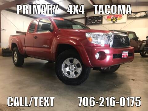 2011 Toyota Tacoma for sale at Primary Auto Group Jeeps Hummers Tacomas in Dawsonville GA